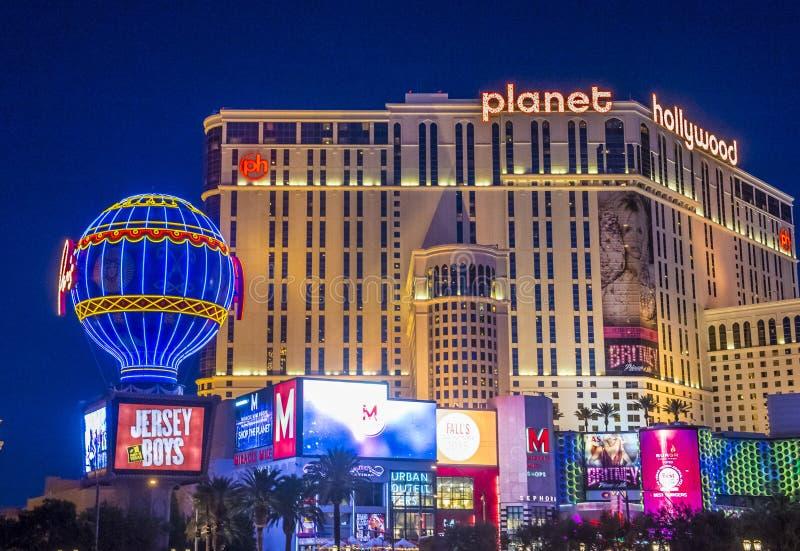 Las Vegas, planeta Hollywood fotografía de archivo libre de regalías