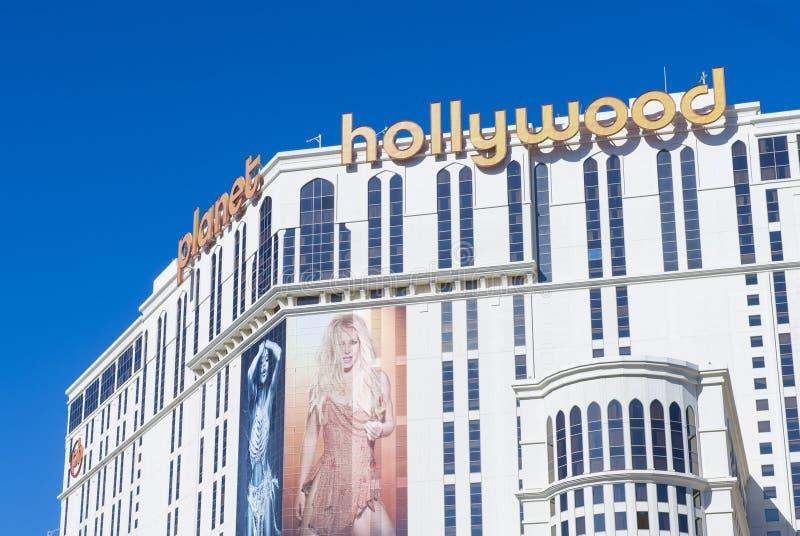 Las Vegas, planeta Hollywood foto de archivo libre de regalías