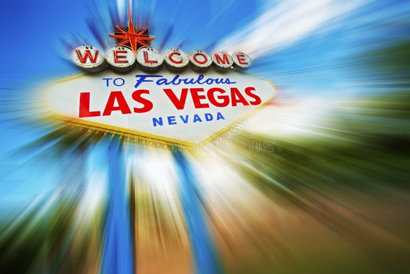 Las Vegas pośpiech zdjęcia royalty free