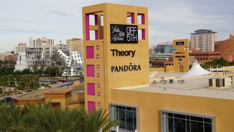Las Vegas Premium Outlets South in Nevada. (USA royalty free stock photos