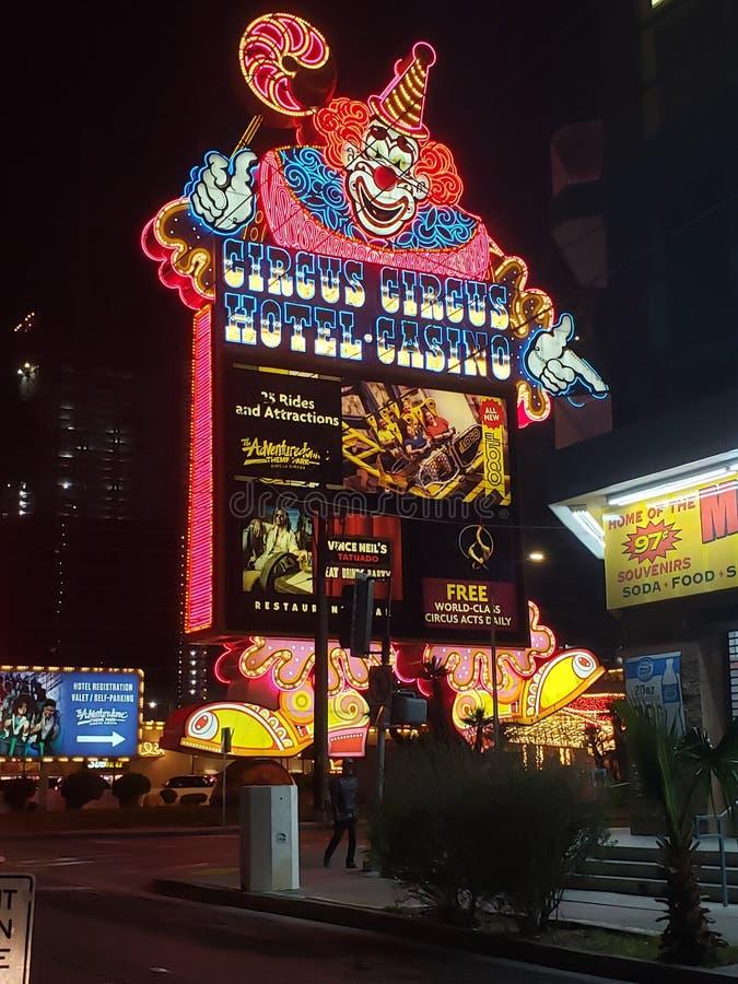 Las Vegas przyci?gania obraz stock