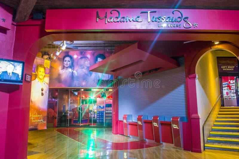 Las Vegas, señora Tussauds foto de archivo libre de regalías