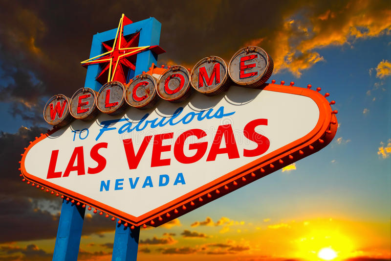 Download Las Vegas Sign stock photo. Image of urban, palm, strip - 21830048