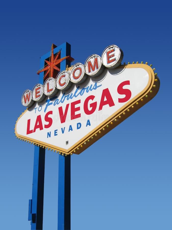 Las Vegas Sign, Nevada royalty free illustration