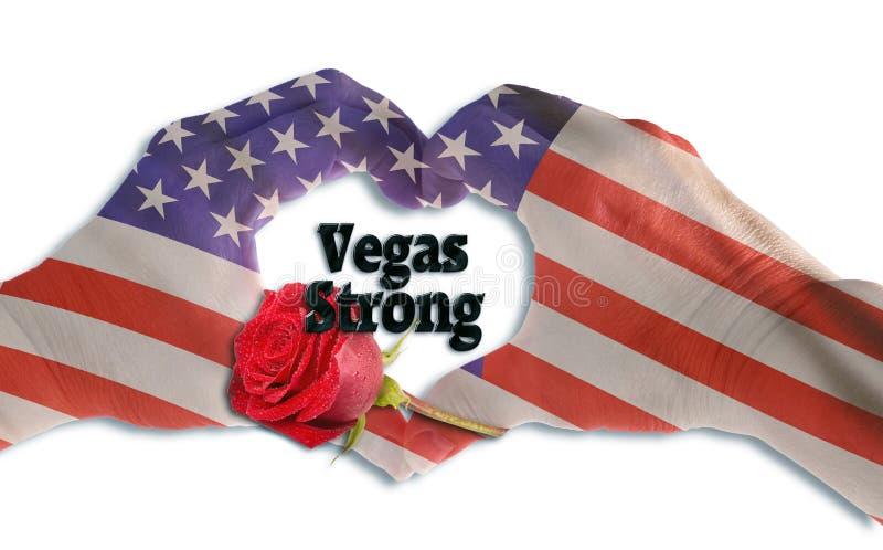 Las Vegas Silny fotografia royalty free