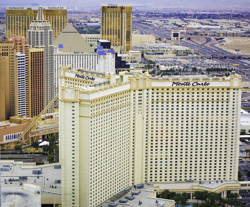 Las Vegas-Skyline lizenzfreie stockfotos