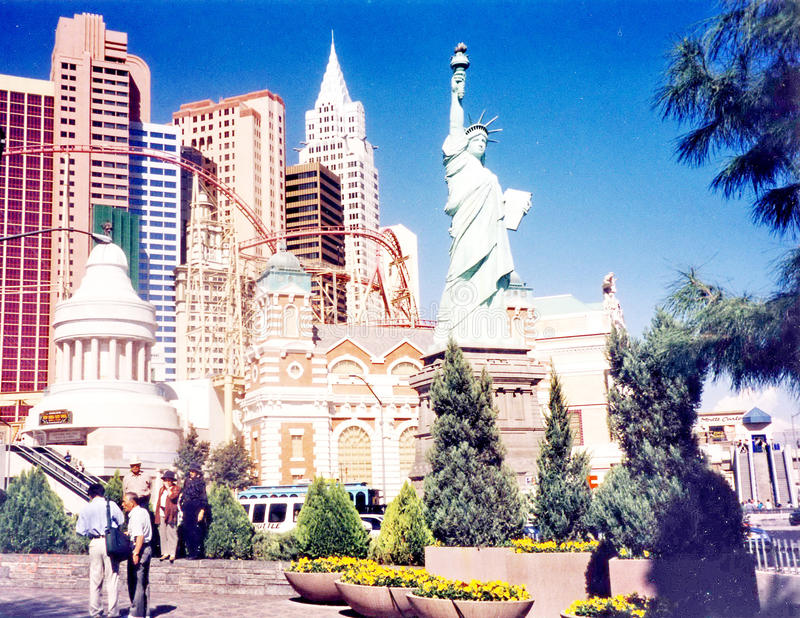 Las Vegas statua wolności 2000 obraz royalty free