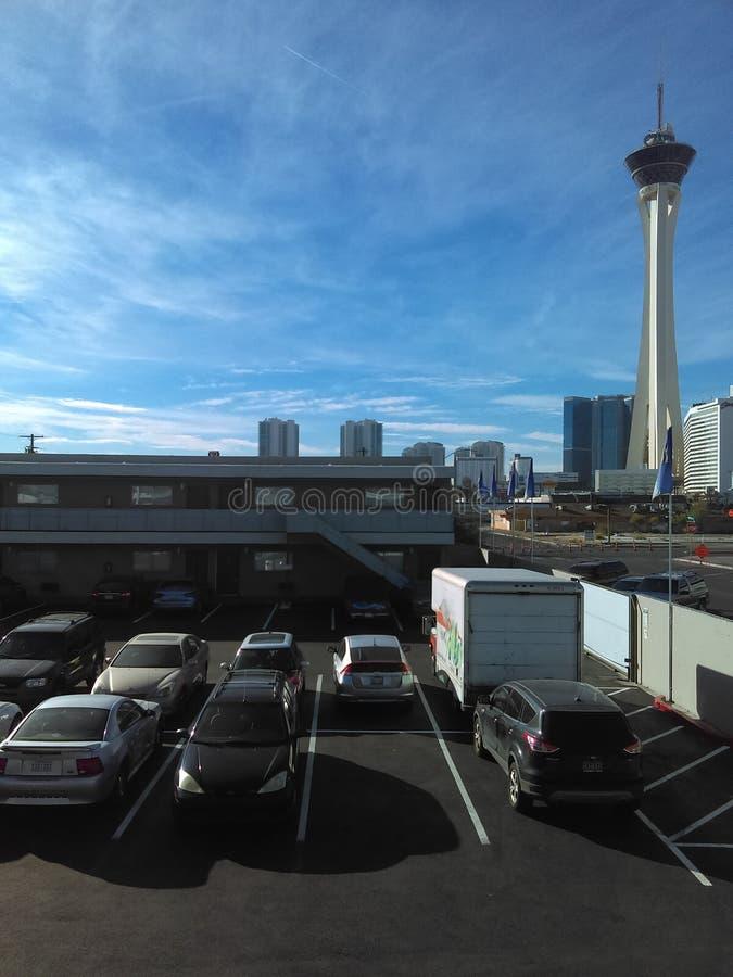 Las Vegas stratosfery zabawa zdjęcie stock