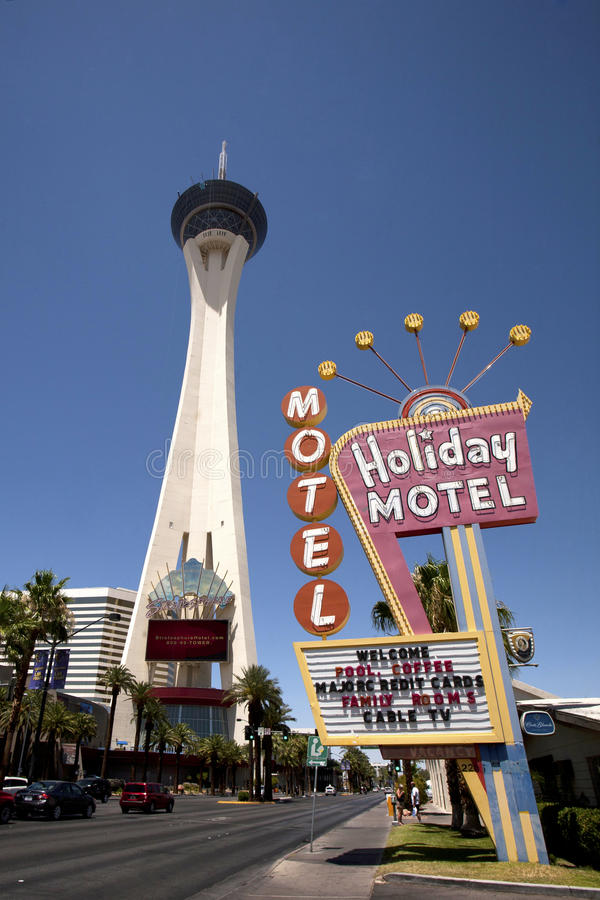 Download Las Vegas Stratosphere editorial photography. Image of tacky - 25457492