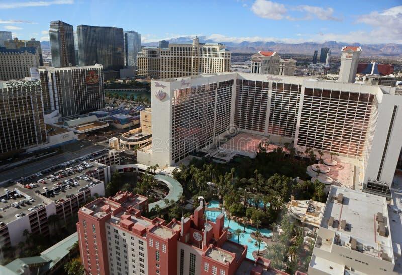 Las Vegas-Streifenantenne stockfoto