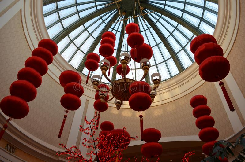 Las Vegas Strip, κόκκινο, κτύπος, κουδούνι, gong, άβακας, θερμοκήπιο, βρεφικός σταθμός, θερμοκήπιο στοκ εικόνα με δικαίωμα ελεύθερης χρήσης