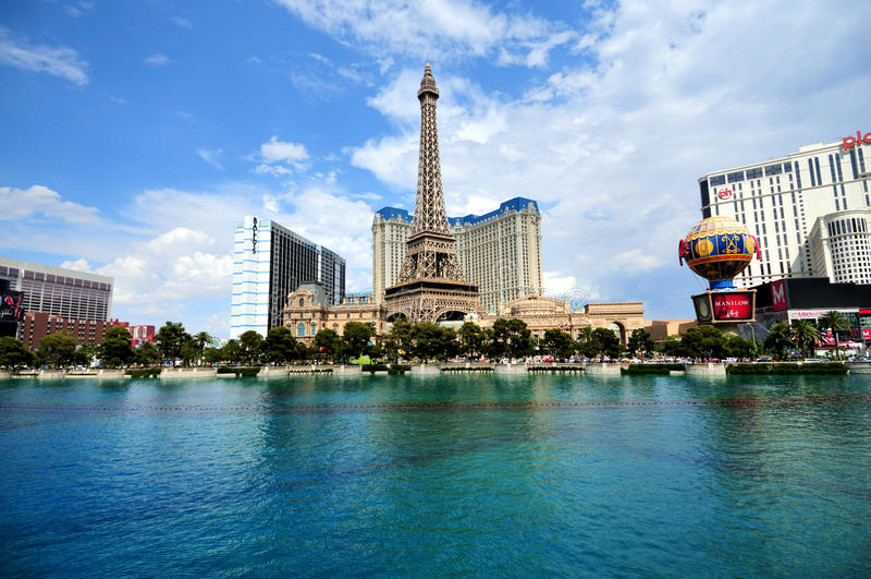 Download Las Vegas strip editorial photography. Image of ballon - 18277737