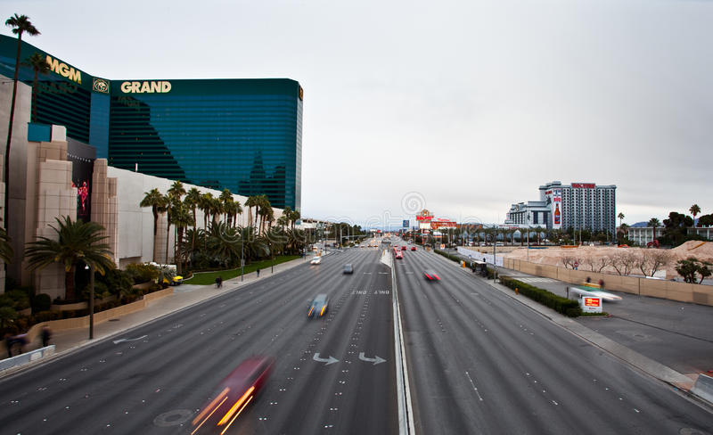 Las Vegas Strip Editorial Stock Image