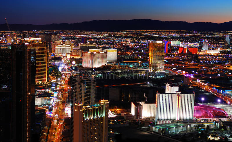 Question Aerial view las vegas strip are mistaken