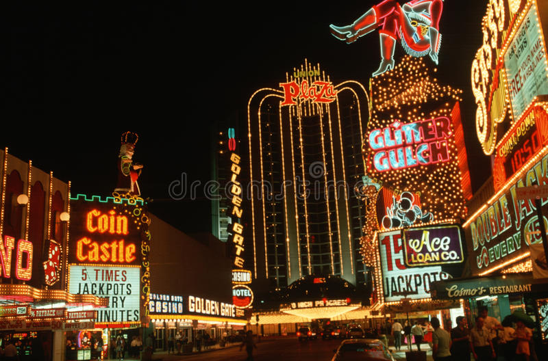 Download Las Vegas Strip at night editorial photo. Image of culture - 23148866