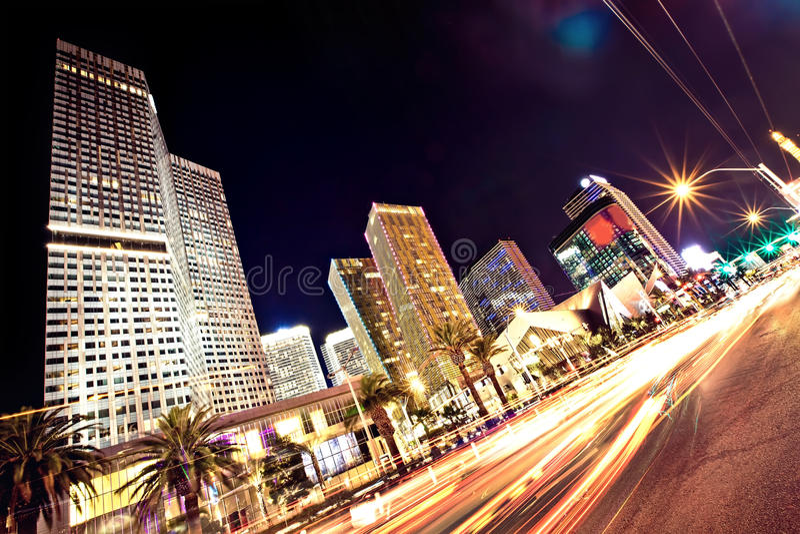 Download The Las Vegas Strip At Night Editorial Stock Photo - Image: 27249733