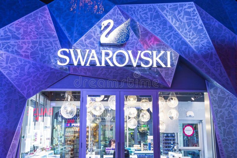 Las Vegas Swarovski stock foto's