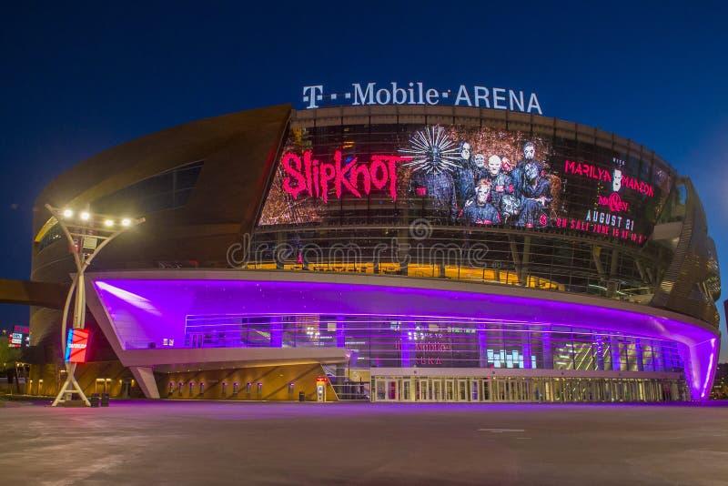 Las Vegas T Mobile Arena Editorial Stock Photo Image Of Hotel