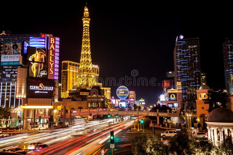 Las Vegas, tira fotografia de stock