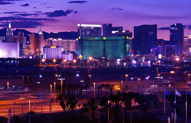 Las Vegas - tira de Vages fotos de archivo