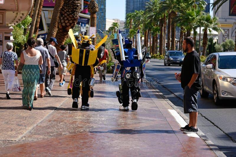 Las Vegas-Transformatoren lizenzfreie stockbilder