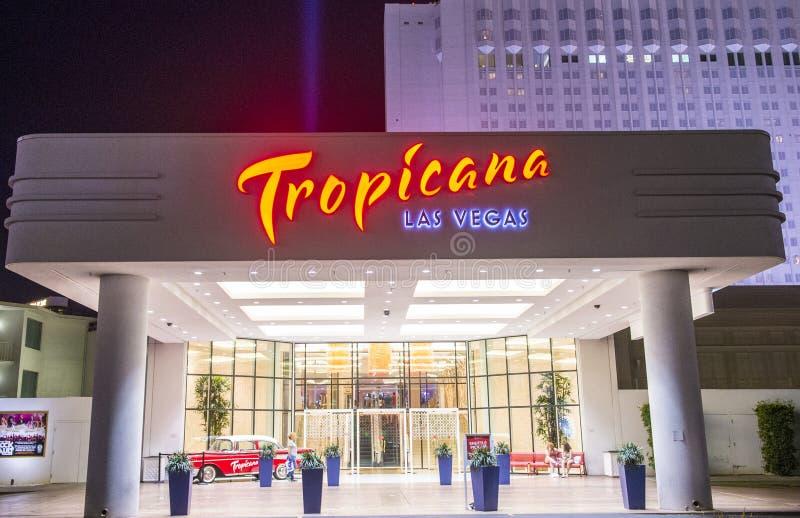 Las Vegas, Tropicana foto de archivo libre de regalías