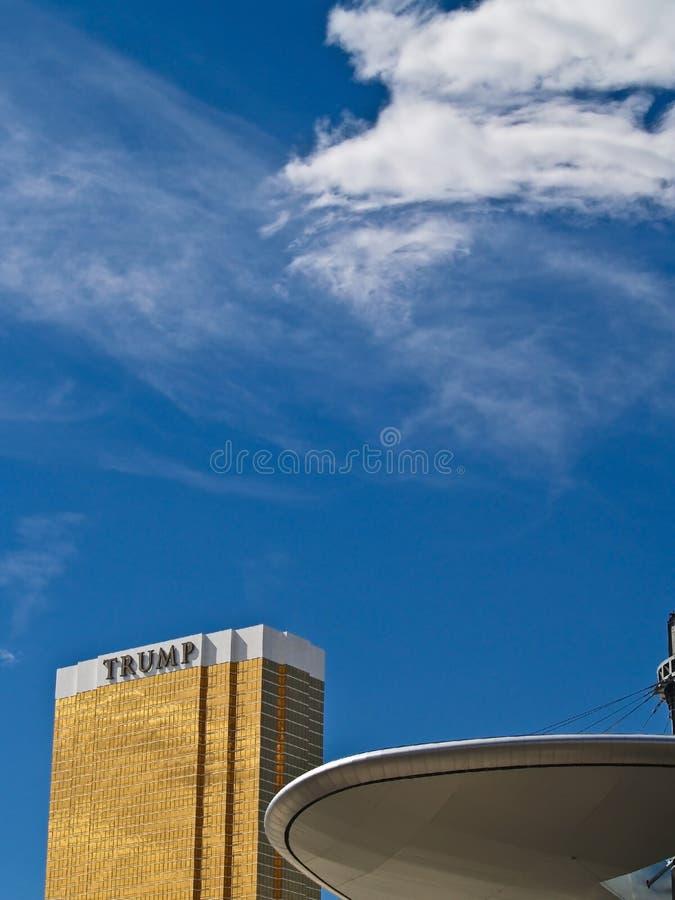 Download Las vegas Trump Hotel. editorial photography. Image of hotel - 16533177