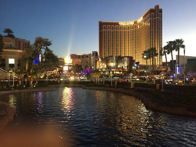 Las Vegas uguagliando è sempre incredibile fotografie stock