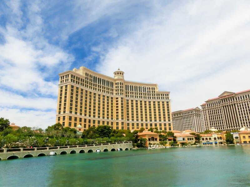 Las Vegas, United States of America - May 05, 2016: Luxury hotel Bellagio stock photo