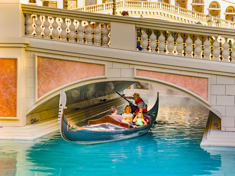 Venetian Resort Hotel & Casino. The resort opened on May 3, 1999 with flutter of white doves, sounding trumpets, singing royalty free stock photos