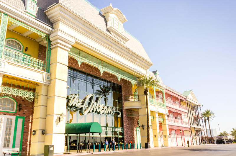 Las Vegas, USA - October 1, 2012: The Orleans Hotel. And Casino in Nevada royalty free stock image