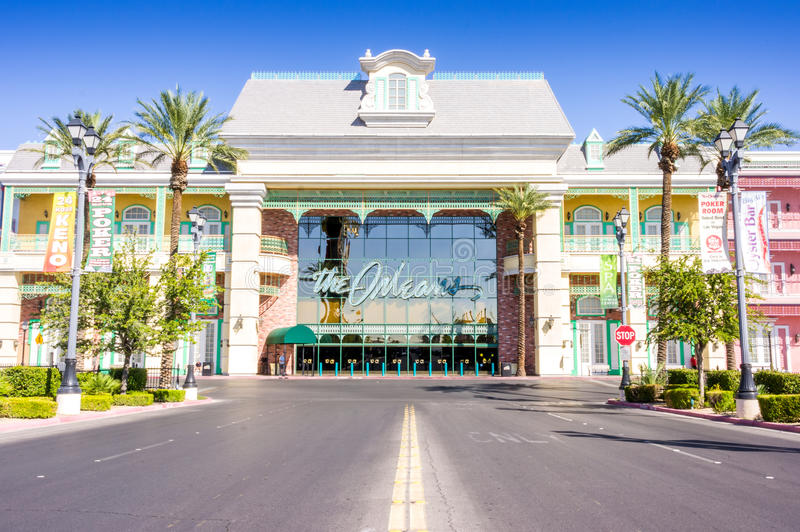 Las Vegas, USA - October 1, 2012: The Orleans Hotel. And Casino in Nevada royalty free stock images