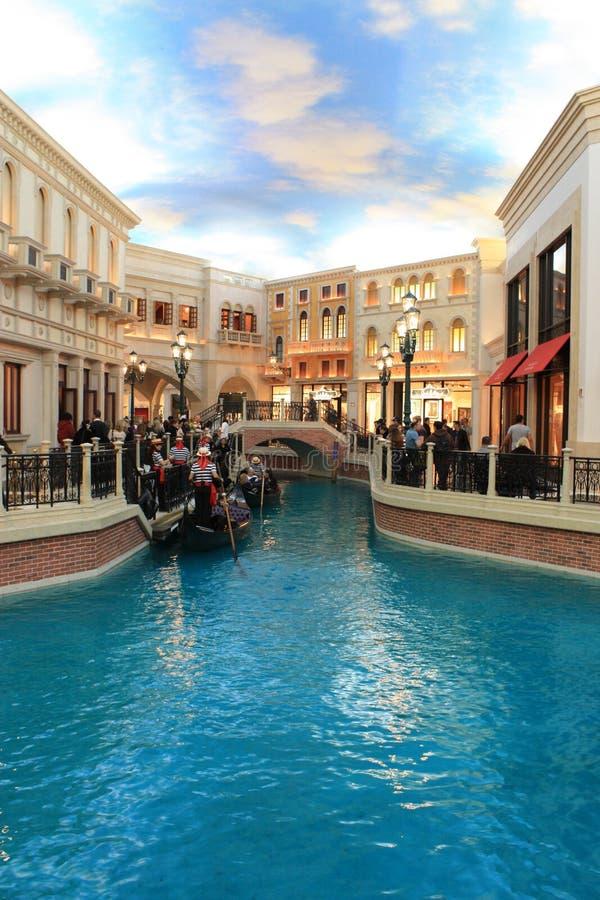 Las Vegas veneciano foto de archivo libre de regalías