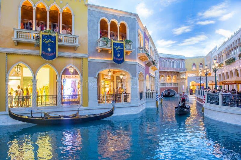 Las Vegas, Venetiaans hotel stock afbeelding