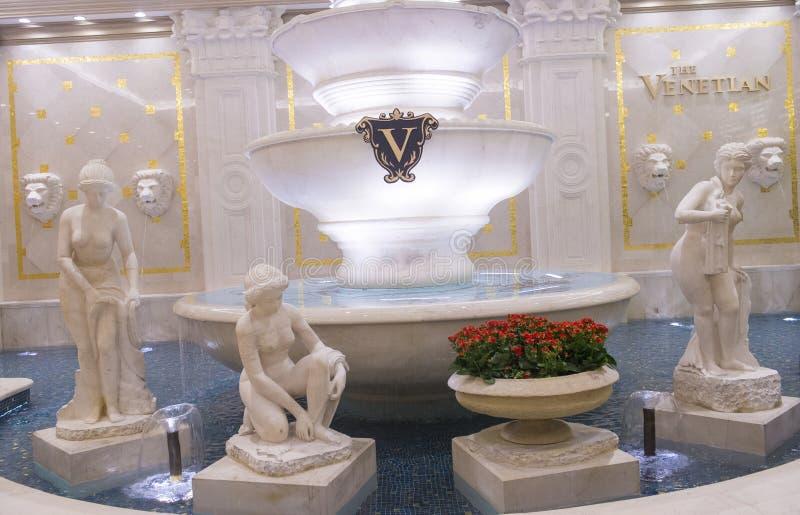 Las Vegas , Venetian hotel royalty free stock photo