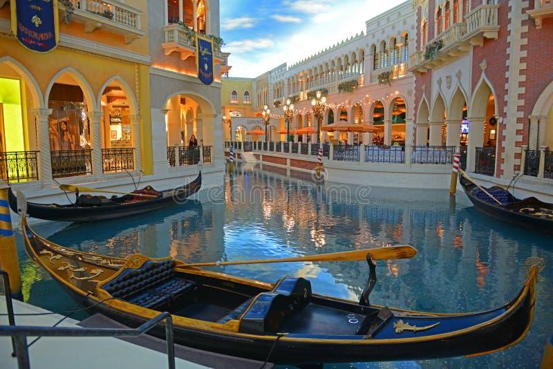 Las Vegas veneziano, Las Vegas, NV, U.S.A. fotografie stock libere da diritti