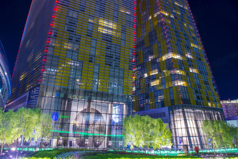 Las Vegas verandert Torens van richting royalty-vrije stock foto