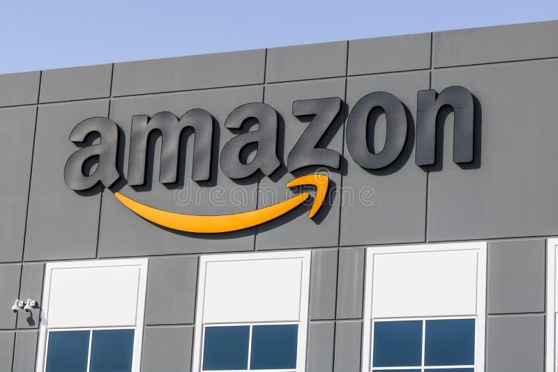 Las Vegas - vers en juillet 2017 : Amazone centre de réalisation de COM Amazone est le plus grand détaillant basé sur Internet au photo stock