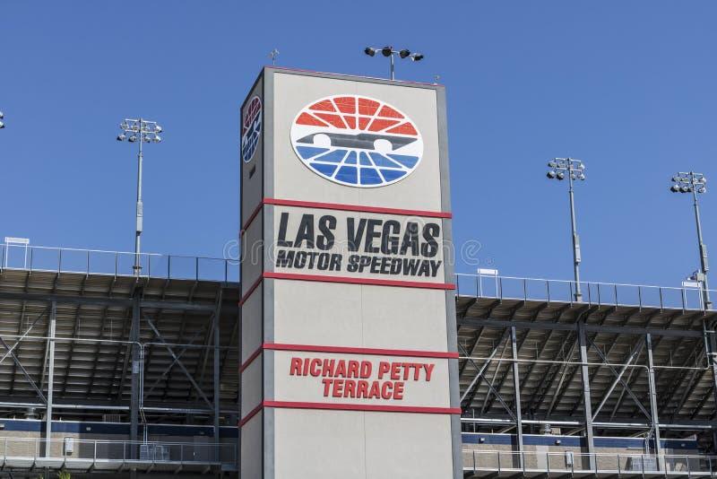 Las Vegas - vers en juillet 2017 : Richard Petty Terrace à Las Vegas Motor Speedway LVMS accueille des événements de NASCAR et de photos stock