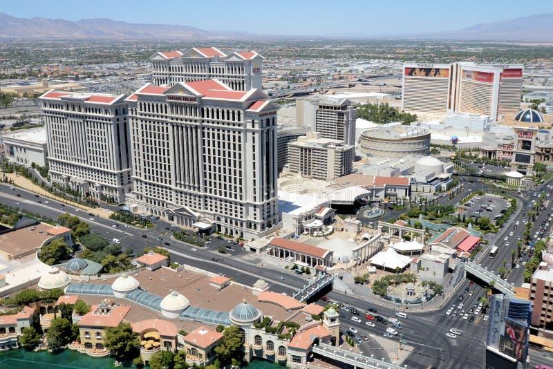 Las Vegas widok z lotu ptaka zdjęcie stock