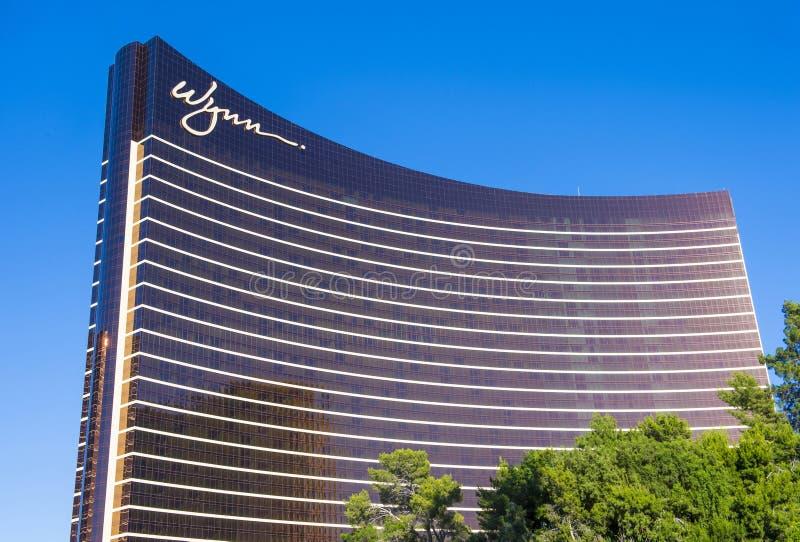 Las Vegas, Wynn-hotel royalty-vrije stock afbeeldingen