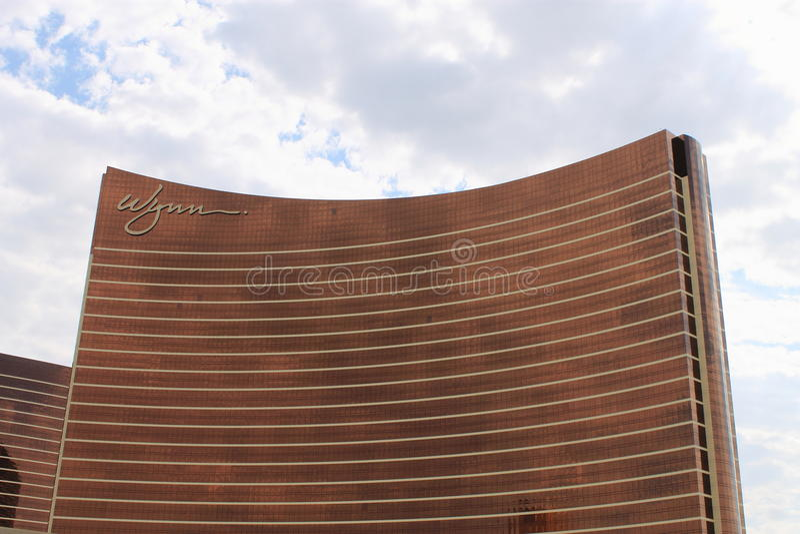 Las Vegas - Wynn Hotel et casino image libre de droits