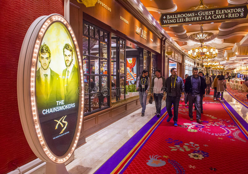 Las Vegas , Wynn hotel stock image