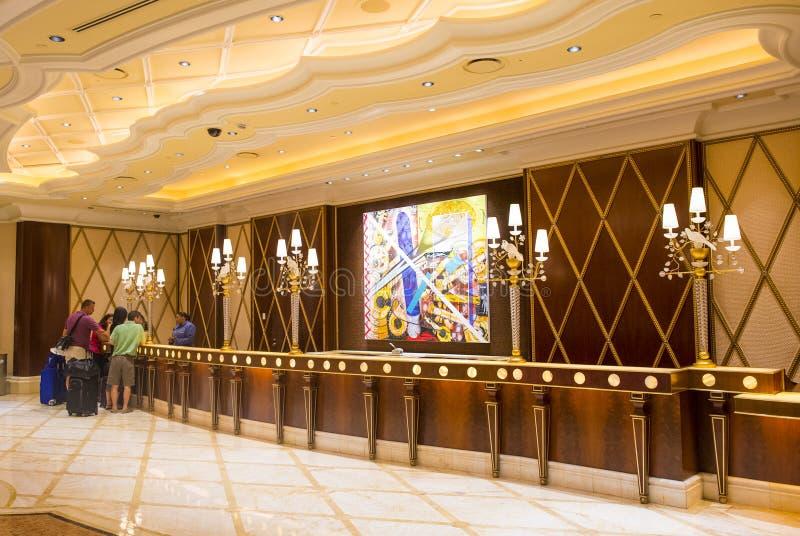 Las Vegas Wynn hotel royalty free stock images