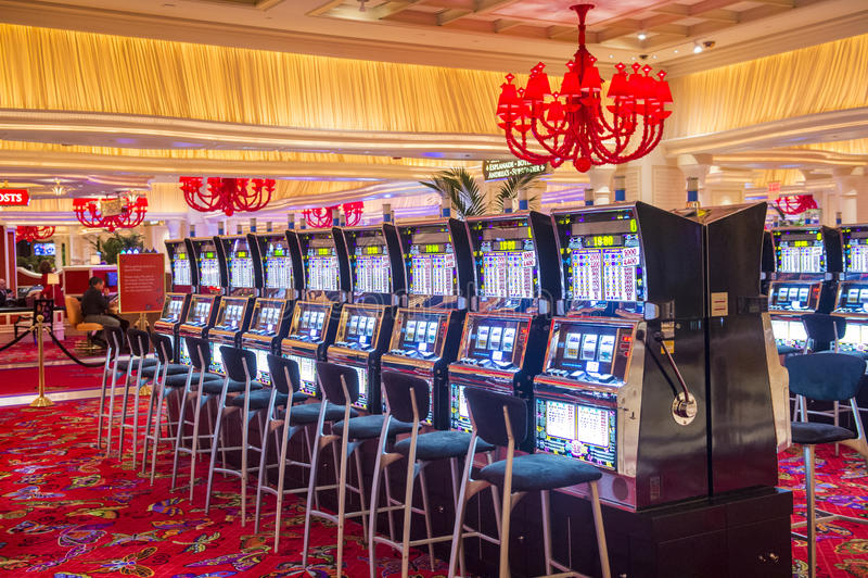 Las Vegas Wynn hotel royalty free stock image