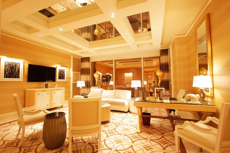 Las Vegas wynn hotel suite fotografie stock libere da diritti