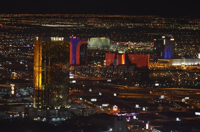 Las Vegas, Las Vegas, zona metropolitana, horizonte, metrópoli, paisaje urbano imagen de archivo