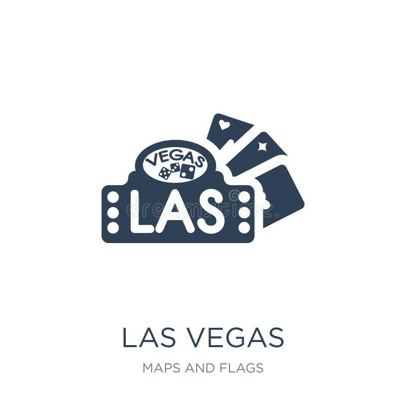 las vegaspictogram in in ontwerpstijl las vegaspictogram op witte achtergrond wordt geïsoleerd die las eenvoudige en moderne vlak vector illustratie