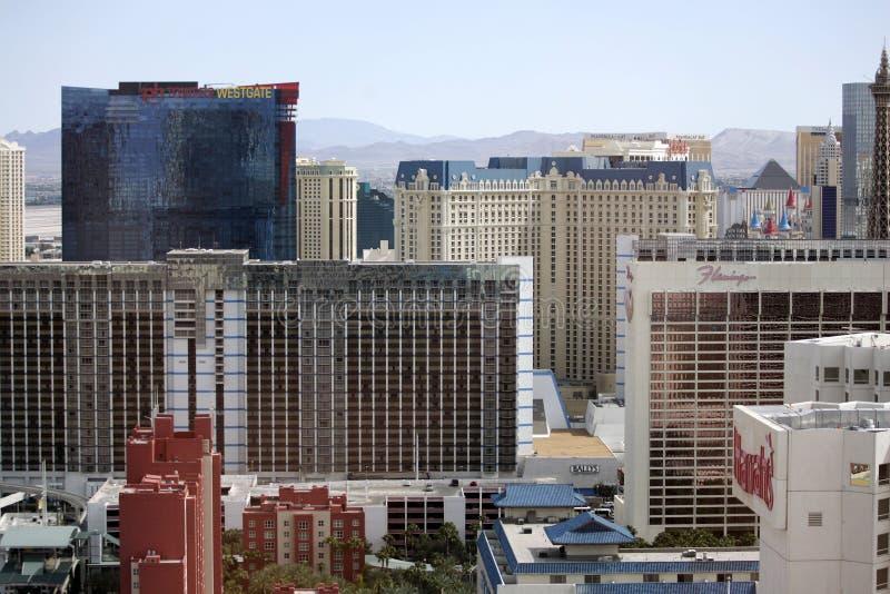 Las- VegasSkyline lizenzfreies stockfoto