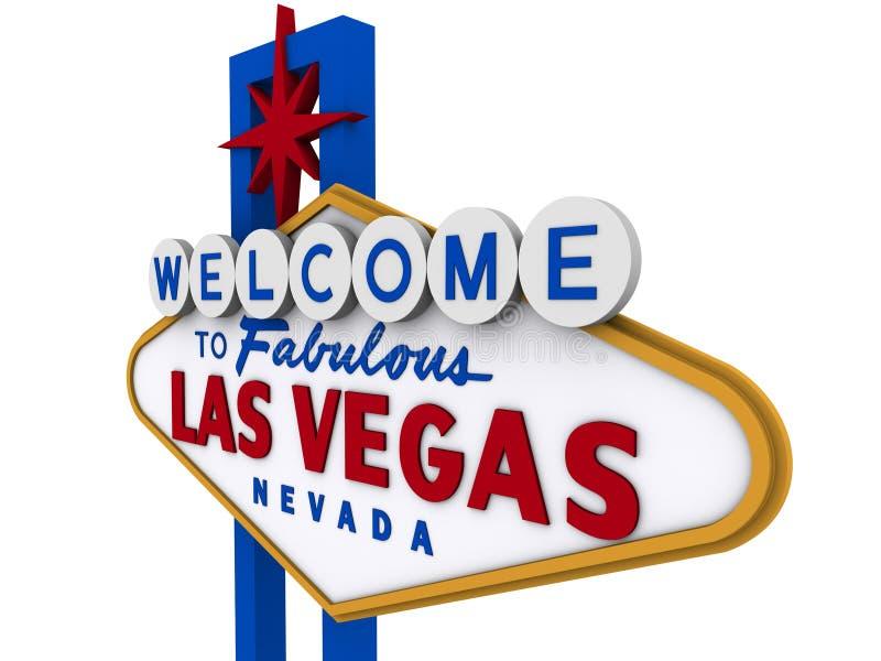Las- Vegaszeichen 6 vektor abbildung